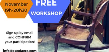 Free furniture restoration workshop